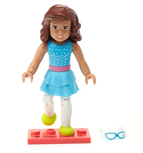 Mega Construx American Girl Collectible Blue Confetti Figure