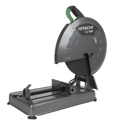Hitachi CC14SFS 14-Inch 15-Amp Portable Chop Saw with Trigger Switch 4000-RPM