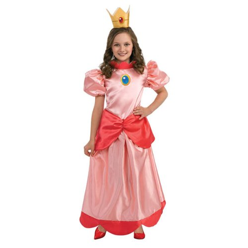 Princess Peach Costume Girl -