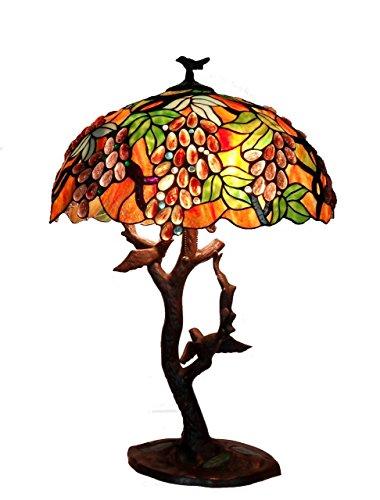 Birds Tiffany Table Lamp - 8
