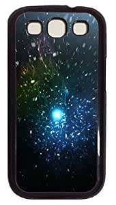 Particles Custom Samsung Galaxy S3 I9300 Case Cover Polycarbonate Black