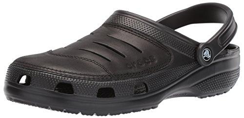Crocs Men's Bogota Clog, Black, 11 M -