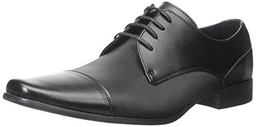 Calvin Klein Men's Bram Diamond Leather Oxford Shoe - 10.5