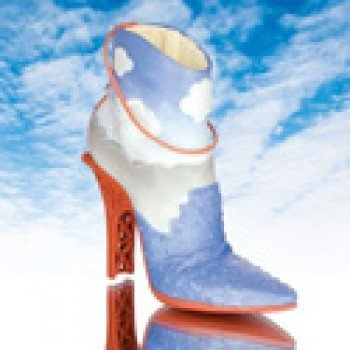 Seismic Collectible Miniature Shoe - Just the Right Shoe by Raine - Miniature Shoe