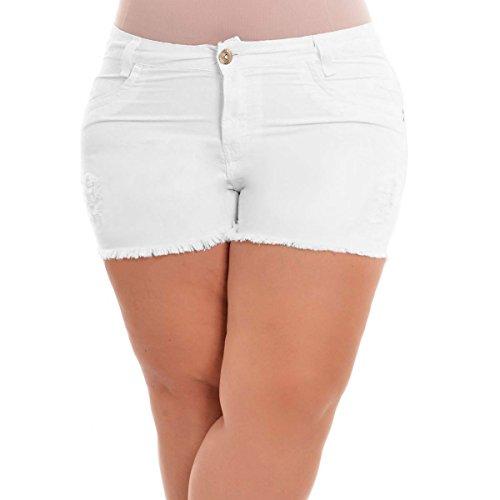 Element White Shorts - 1