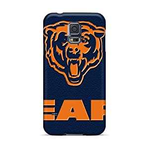 Shock Absorbent Hard Cell-phone Case For Samsung Galaxy S5 (Jio21930ghjD) Allow Personal Design HD Chicago Bears Skin