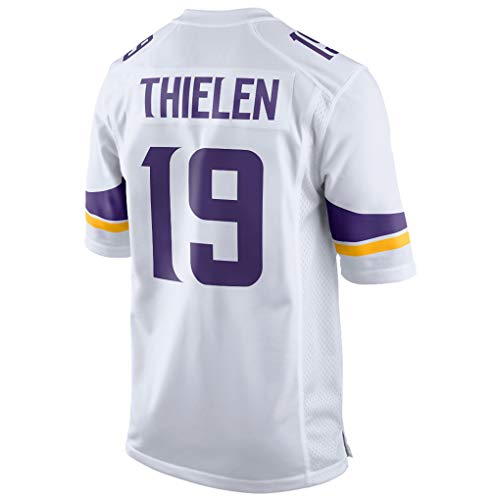 Adam_Thielen_White #19 Fans Jersey Sportswears Football Game Jerseys