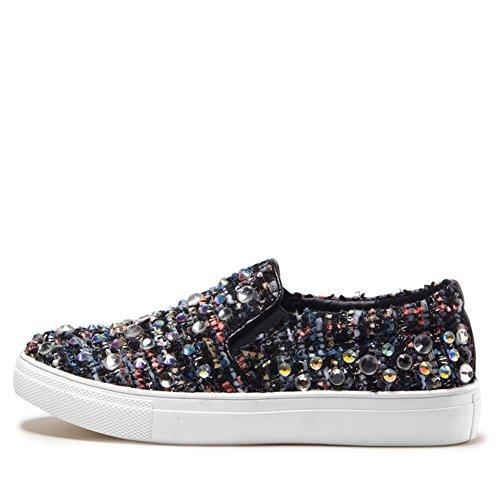 Primavera y otoño moda casual zapatos planos/ zapatos de pedrería/Lok Fu establece pie zapatos B