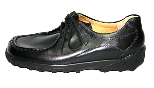Ganter , Chaussures de ville à lacets pour femme Noir Noir 36.5