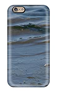 Tpu Shockproof/dirt-proof Bird On The Beach Cover Case For Iphone(6)