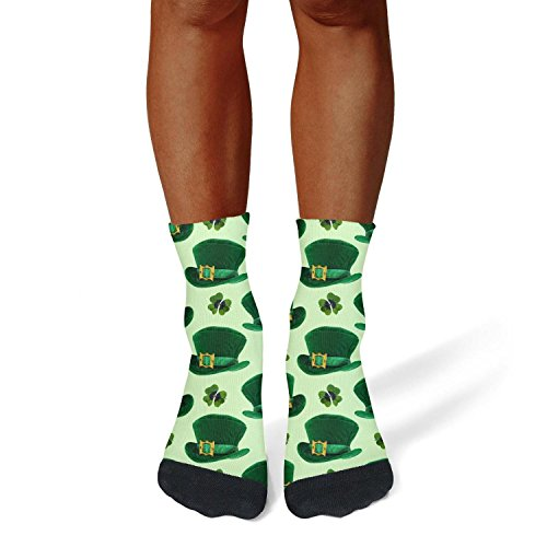 Caiyunli Women's/Mens Crew Socks St Patricks Day Hats Cool s