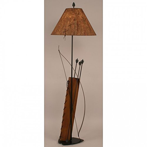 12 Bow Lights (Coast Lamp Manufacturer 12-R46B River Woods Bow & Arrow Floor Lamp - 61.5 in.)
