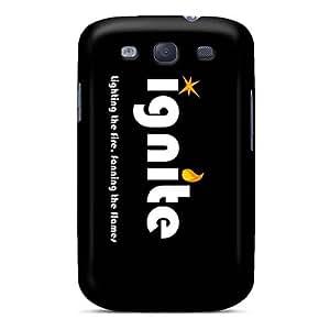 Samsung Galaxy S3 Jdu5484wbuY Provide Private Custom Fashion In Flames Band Series Anti-Scratch Hard Phone Covers -AlissaDubois
