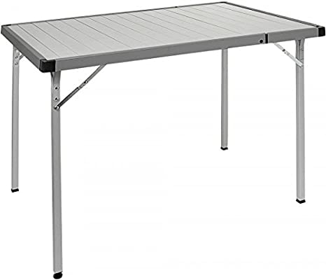 BRUNNER - Mesa plegable para exteriores (94 x 129 cm), color ...