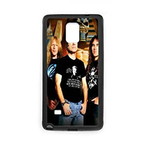 Generic Case Iron Maiden Band For Samsung Galaxy Note 4 N9100 G7Y6677987 hjbrhga1544