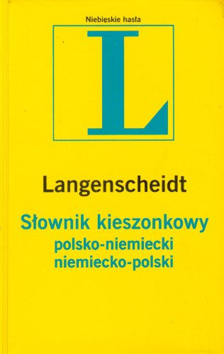 L. Slownik kieszonkowy polsko - niemiecki niemiecko - polski