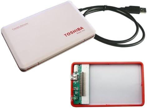 Caja externa de aluminio para disco duro IDE 1,8-TOSHIBA: Amazon ...