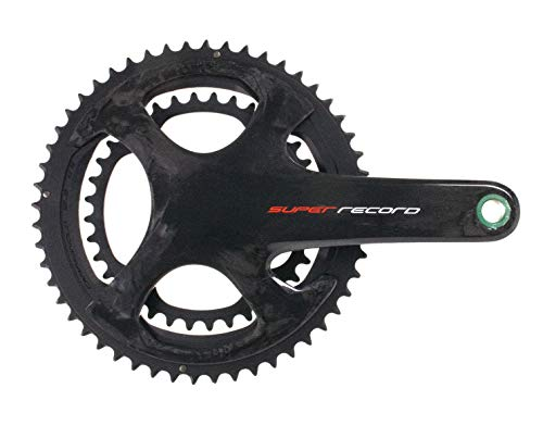 Campagnolo Super Record Carbon Ultra Torque TI 12 Speed Chainset, Black, 170 mm 53-39T