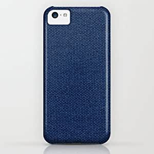 Society6 - Blue Fabric iPhone & iPod Case by StevenARTify