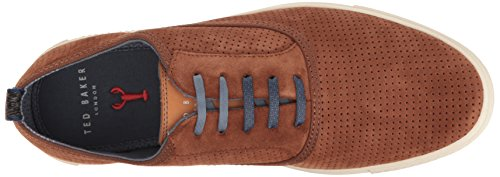 Ted Baker Mens Odonel Sued Ben Loafer Tan