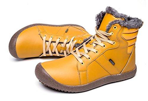 caviglia 36 Stivali da stivaletti con invernali uomo invernali da AAw048qr