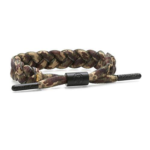 Rastaclat Woodland Camo 2 Shoelace Bracelet