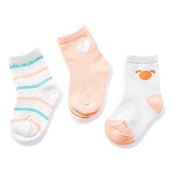 Wzbb Calcetines 0-3-6-12 Meses Calcetines De Bebé Recién Nacido ...