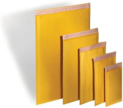 300 Pack #6 12.5x19 Yellow Kraft Bubble Mailers Padded Mailing Envelope Shipping Bags 12.5 x 18