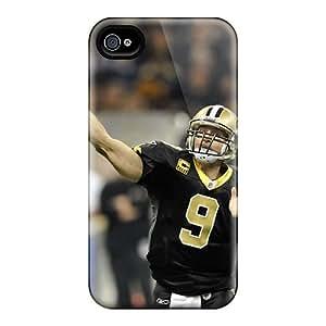 Cute High Quality Iphone 4/4s Drew Brees Saints 2013 Case
