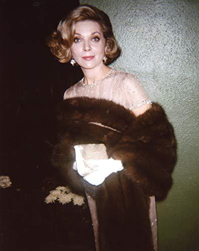 Barbara Bain in Fur Photo