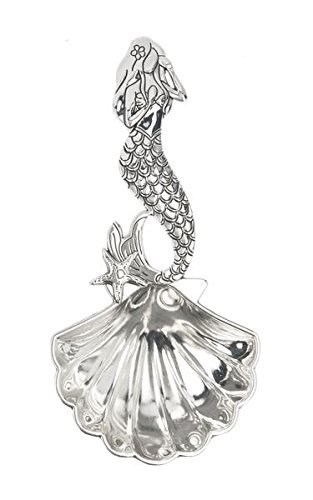 Ganz ER32675 Mermaid Metal Tablespoon, One Size, silver