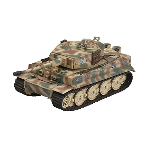 Easy Model Tiger I Late Type S.PZ.ABT.102 Normandy 1944 Military Vehicle Kit