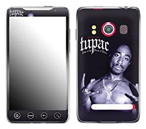 Zing Revolution MS-T10132 Tupac - House of Blues Cell Phone Cover Skin for HTC Evo 4G