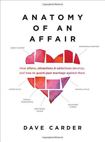 Anatomy of an Affair: How Affairs, Attractions, and Addictions Develop, and How to Guard Your  Marriage Against Them cover
