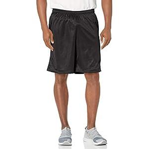 מכנסי האנס ספורט קצרים לגברים עם כיסי רשת מרופדים לאחסון
