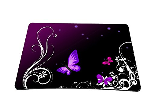68 opinioni per Silent Monsters- Tappetino mouse 22 x 18 cm, design: purple butterfly