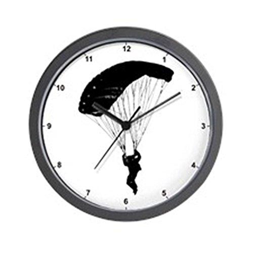 CafePress Skydiver Clock Unique Decorative 10