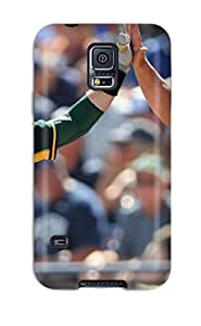 Sherry Green Russell's Shop Best 3142665K691749279 oakland athletics MLB Sports & Colleges best Samsung Galaxy S5 cases