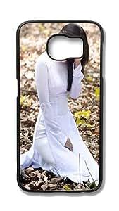 Samsung Galaxy S6 Edge Customized Unique Hard Black Case Vietnamese Girl Case S6 Edge Cover PC Case