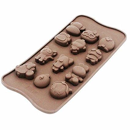 CLE DE TOUS – Molde de silicona para Chocolate, Cubito de hielo, gelatina,
