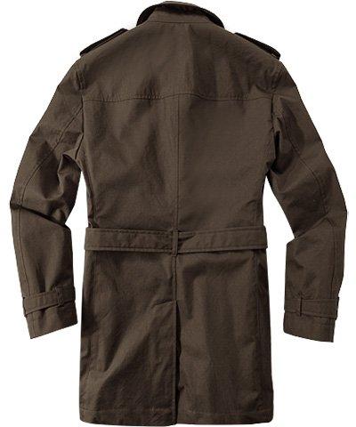 HUGO BOSS Herren Mantel David1 Baumwolle Warme Jacke Unifarben, Größe: 52, Farbe: Braun