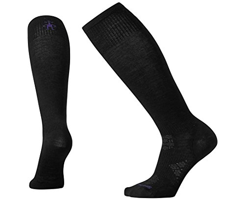 (Smartwool Women's PhD¿ Ski Ultra Light Black Medium)