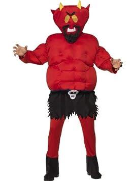 Smiffys - Disfraz de diablo adultos, talla UK 38 (34293M-KIT 1 ...
