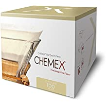 Chemex Bonded Coffee Filter Circles, 100 Count, 2 Pack