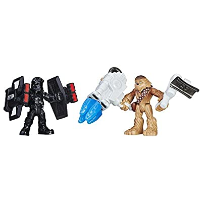 Star Wars Galactic Heroes Chewbacca & First Order TIE Pilot