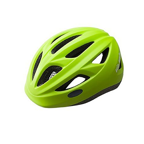 Via Velo children Bike Helmet Universal Fit with 13 Air Cooling Vents GREEN/Small [並行輸入品]   B072Z711LM