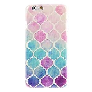 Caso duro del diseño linterna colorida para el iphone 6 ( Modelos Compatibles : IPhone 6s/6 )