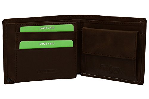 purse Wallet with man and VA2579 coin leather lateral BASILE flap ANTONIO moro RWvHSRr