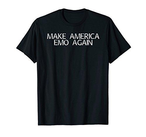 MAKE AMERICA EMO AGAIN Shirt Funny Goth US Gift -
