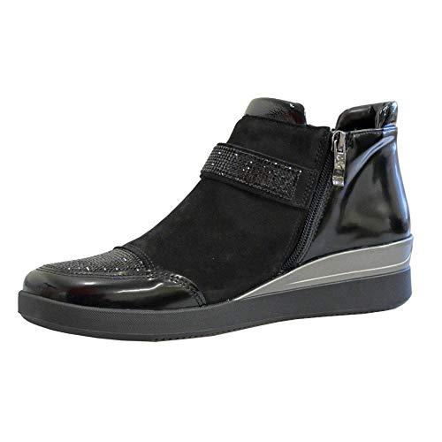 7 Womens ARA 43330 Boot Jenny Ara Black Ankle fUwq7Sx